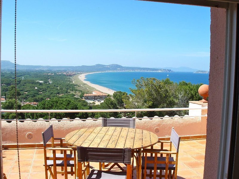 terrace with spectacular sea views-SA PUNTA COSTA BRAVA