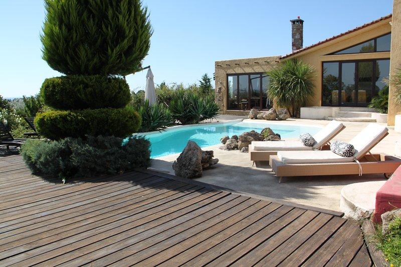 mediterranean hacienda, holiday rental in Kitros