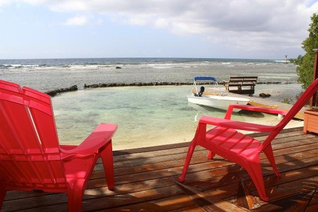 Private Oceanfront Home, holiday rental in Politilly Bight