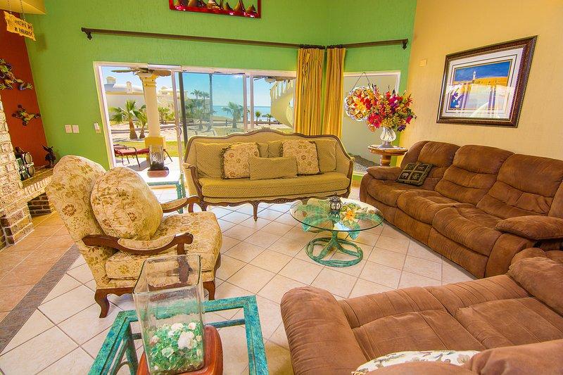 Sofá, muebles, frutas, Silla, Interior