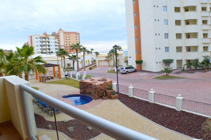 Edificio, Hotel, Resort, de gran altura, Palmera
