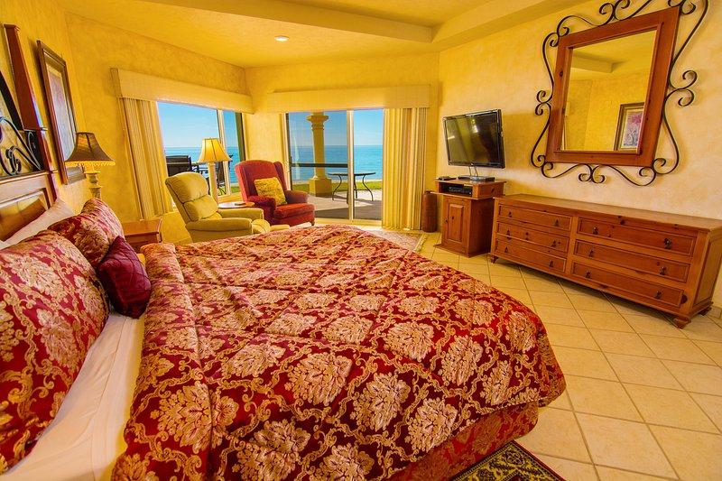 Interior, salón, dormitorio, cama, muebles