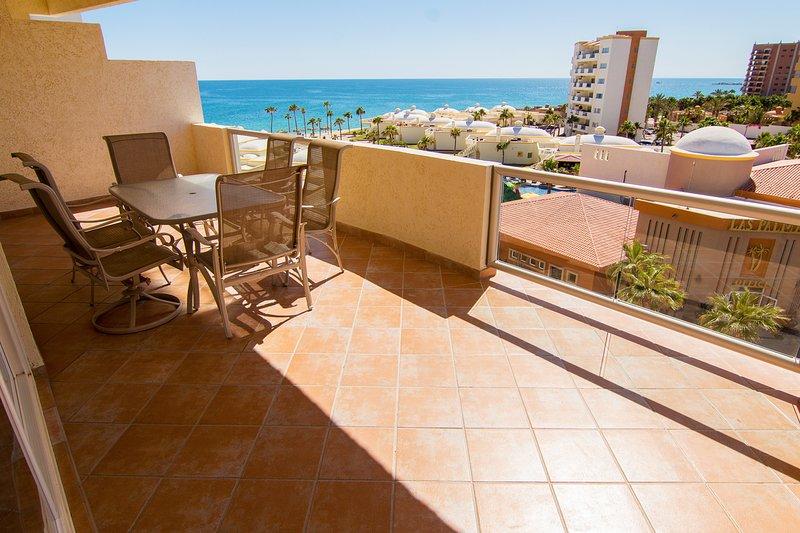 Silla, muebles, terraza, balcón, piso