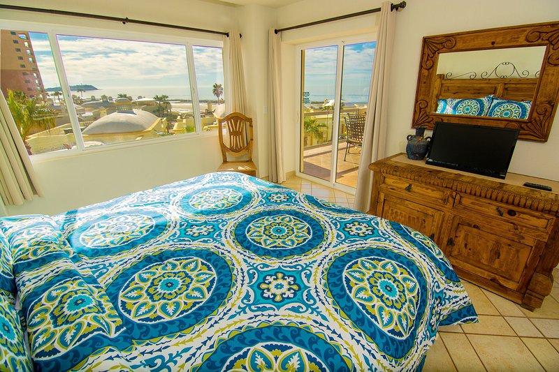 Vue de la mer de Cortez depuis la chambre principale