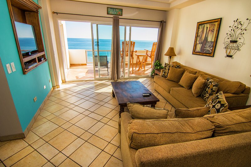 View of the beautiful Sea of Cortez from the Family Room