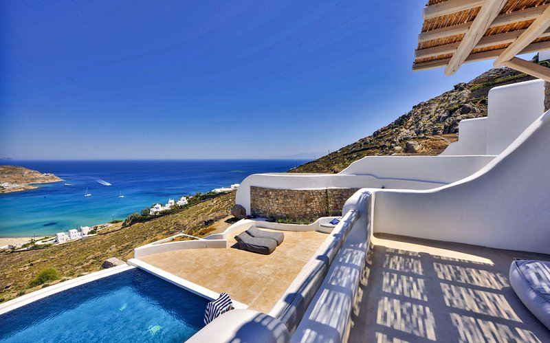 The views from the villa are truly exceptional.