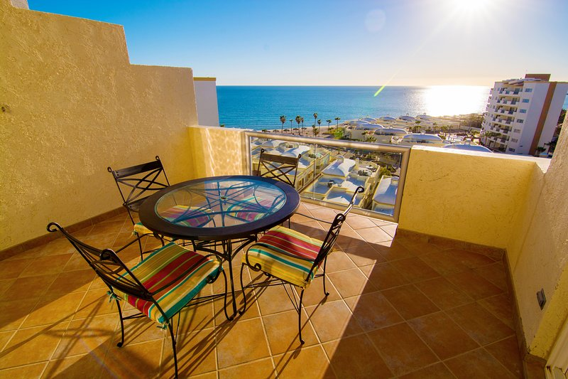 Spectacular View of the Sea of Cortez from the balcony