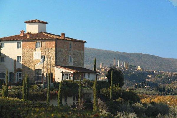 Soarzio appartamento con piscina per 4 vicino San Gimignano, location de vacances à Bibbiano