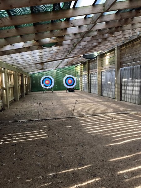 Archery venue at The Bay
