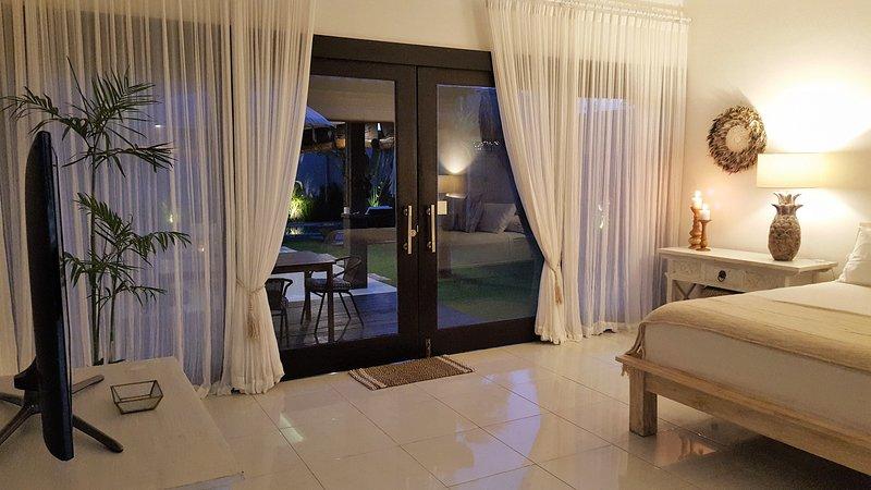 Villa Darshan - Stunning, Peaceful and Private, 1 bed Villa, location de vacances à Kerobokan