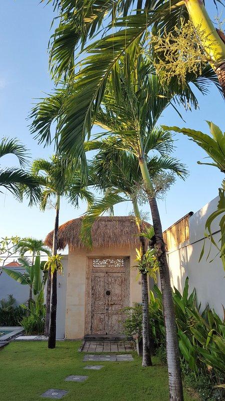 Las puertas de sus vacaciones en Bali