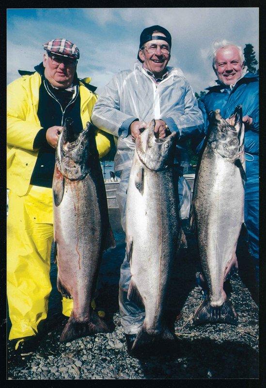 Los pescadores felices!
