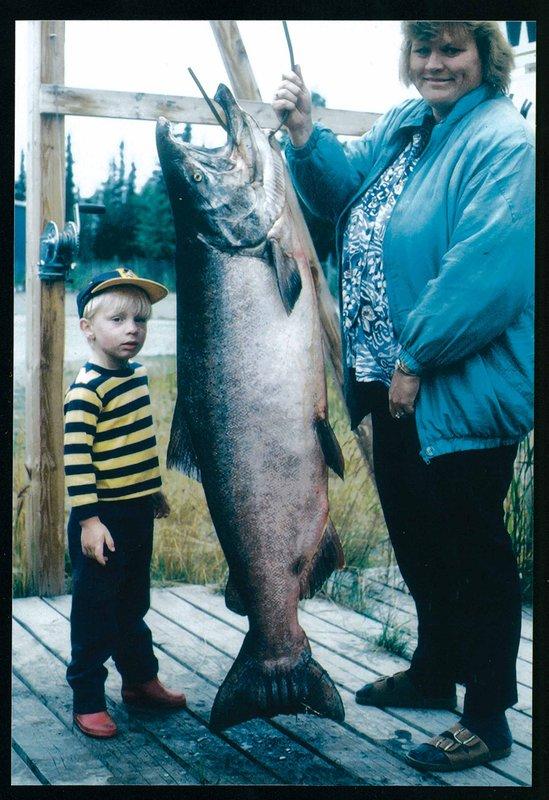 2do lugar 1996 Península de Kenai King Salmon Derby Winner