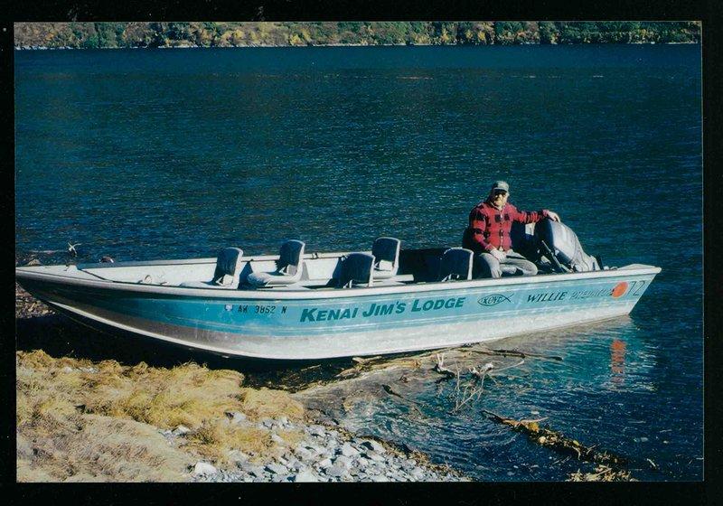 Uno de nuestros barcos de pesca de 20 pies Predator