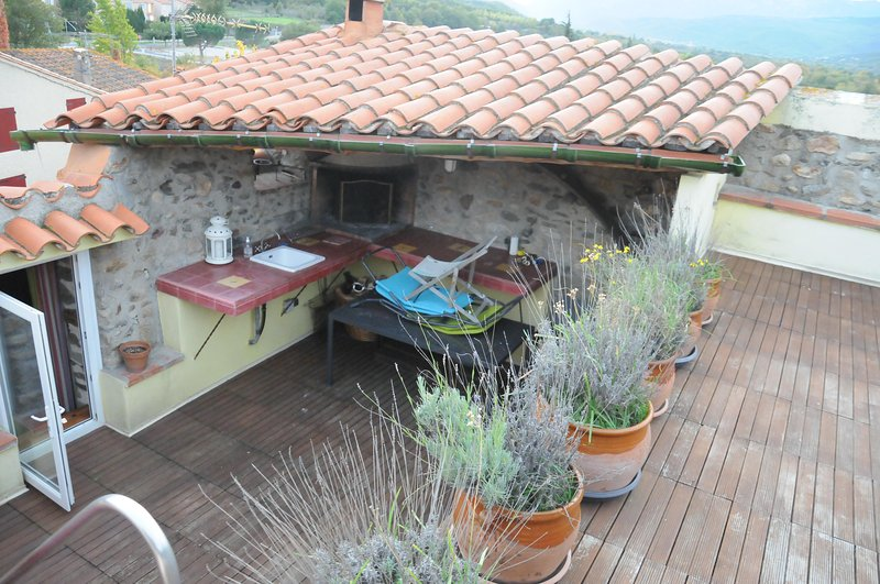 Maison de Village atypique, vacation rental in Vinca