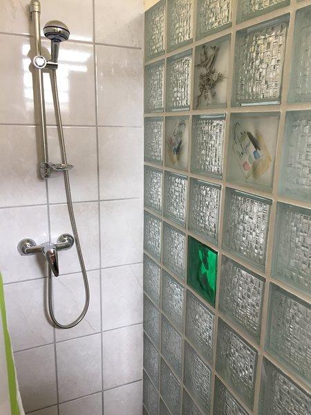 Bathroom redone (03-2017) with walk-in shower