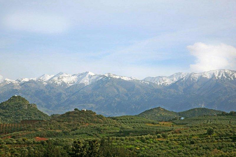 Vy över Vita bergen