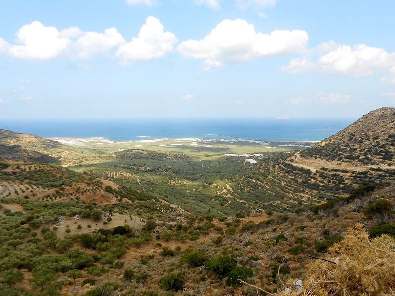 Views of Cretan sea