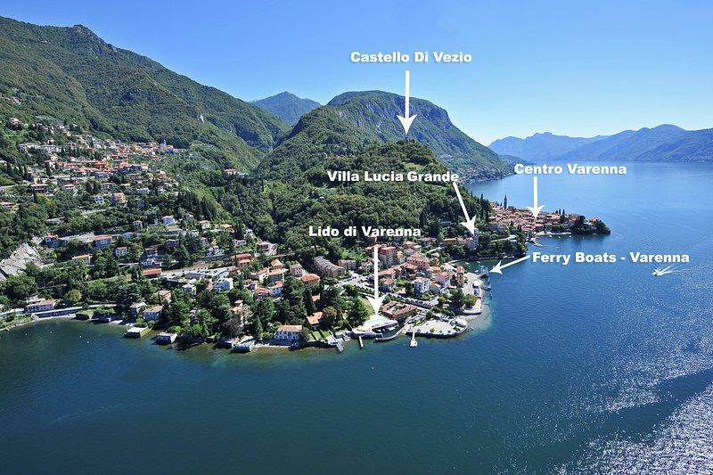 Villa Lucia Grande aerial view