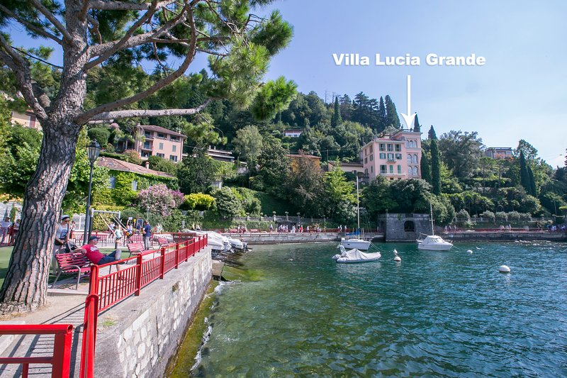Villa Lucia Grande Varenna, alquiler de vacaciones en Varenna