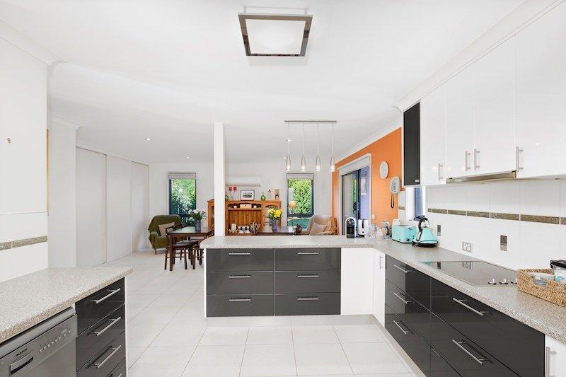 Cozinha moderna grande