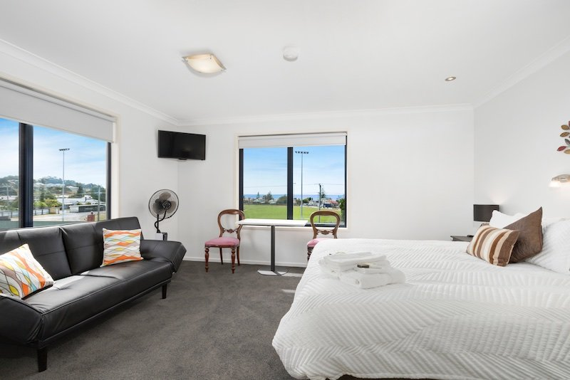 Seaview Suite pode ser re configurado para 2-3 camas de solteiro