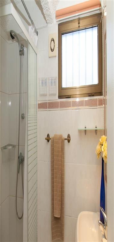 Another family bathroom with shower available in the property