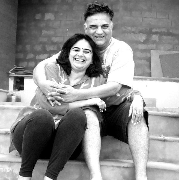 Votre hôte à Vaatalya. Pavan & Indu