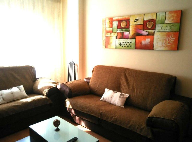 APARTAMENTO BERCEO. CÉNTRICO Y COQUETO, holiday rental in Logrono
