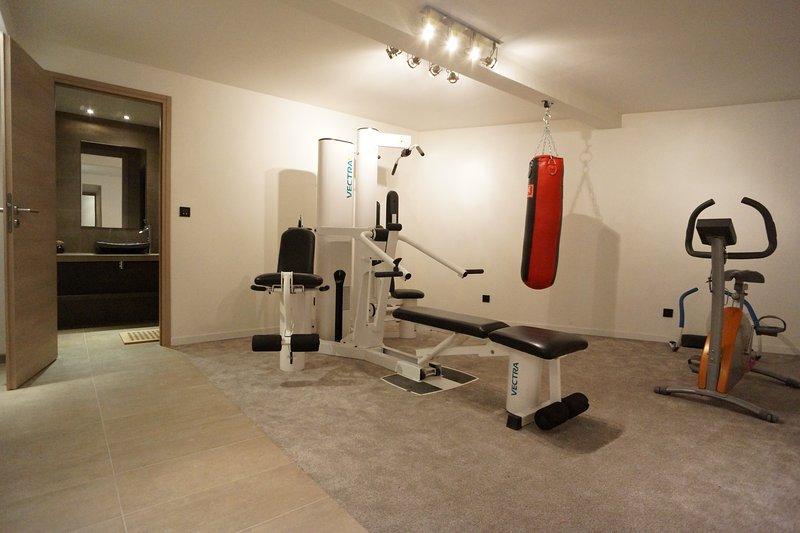 Gym with hammam