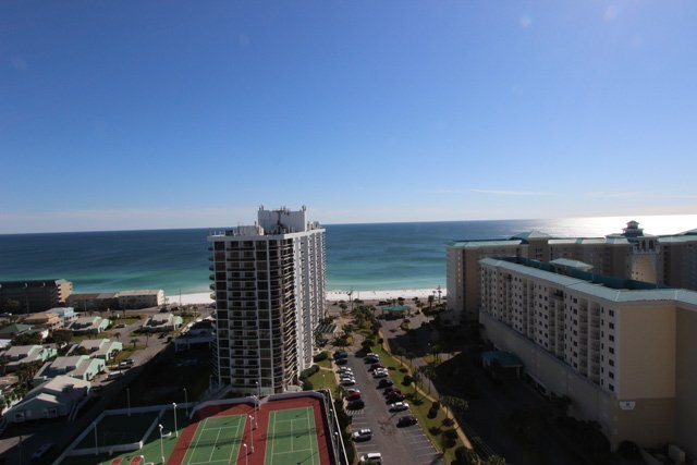 Straight View from the Balcony