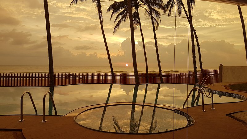Ingels Beach Villa - Absolutely Beachfront, vacation rental in Kalutara