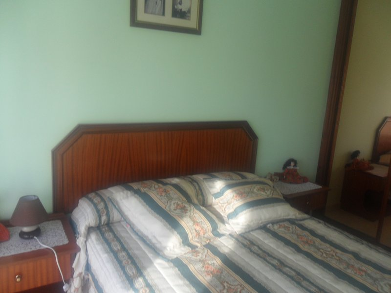 master bedroom with 1 double bed