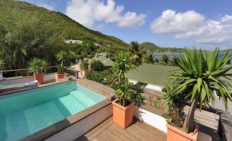 Villa Phoenix a comfortable two bedroom villa in Pointe Milou St Barts, location de vacances à Pointe Milou