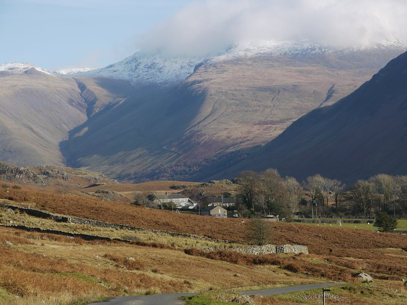 Scafell View Apartment, Wasdale, The Lake District, Cumbria, alquiler vacacional en St. Bees