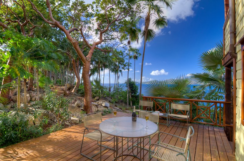 Paradise Found -The Treehouse at Steele Point, holiday rental in Belmont