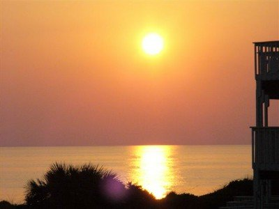 Incroyable golfe Sunset