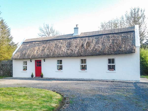 FOREST VIEW, thatched bungalow, pet-friendly, tranquil location, Castlerea, Ref, vacation rental in Strokestown