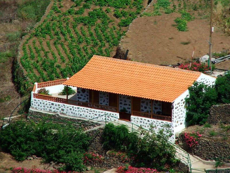Charming Country house Agulo, La Gomera, alquiler de vacaciones en Agulo