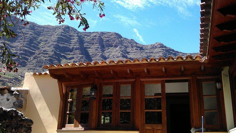 Charming Country house Hermigua, La Gomera, casa vacanza a Hermigua
