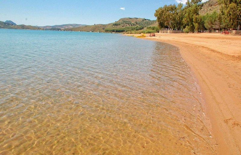 Playa interior de Iznájar