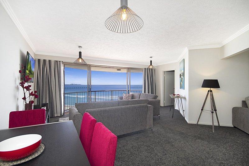Grande Corniche U17 - Panoramic Kirra Hill, aluguéis de temporada em Tweed Heads