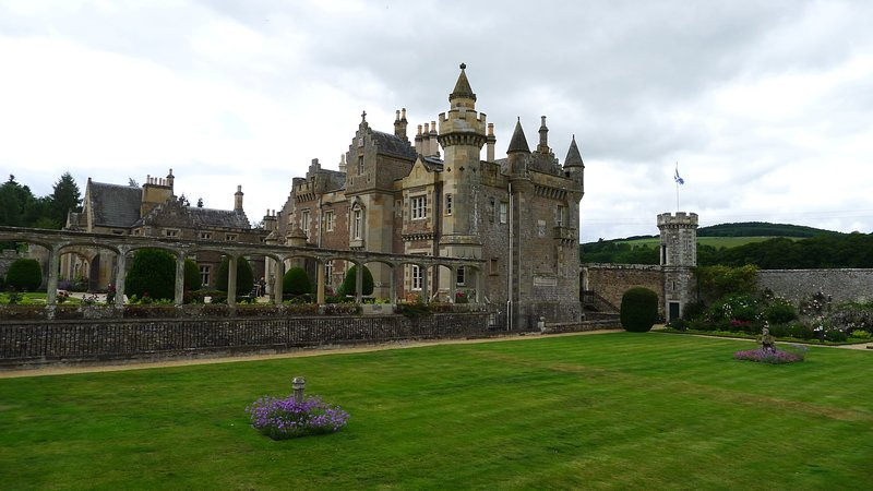 Abbotsford. The home of Sir Walter Scott which is only 45 minutes away