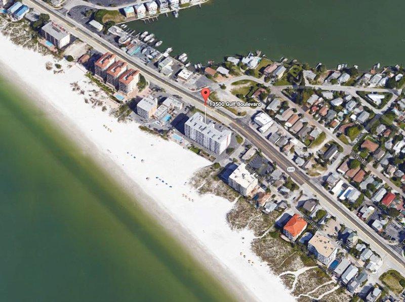 Sea Breeze se trouve à Madeira Beach, FL le golfe BLVD près de Pass Village de John