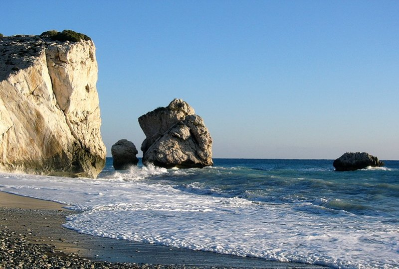 Deusa Rock of Love Birthplace Aphrodites