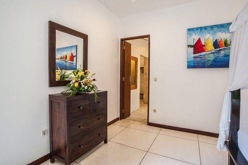 Ground floor bedroom with separate dressing room