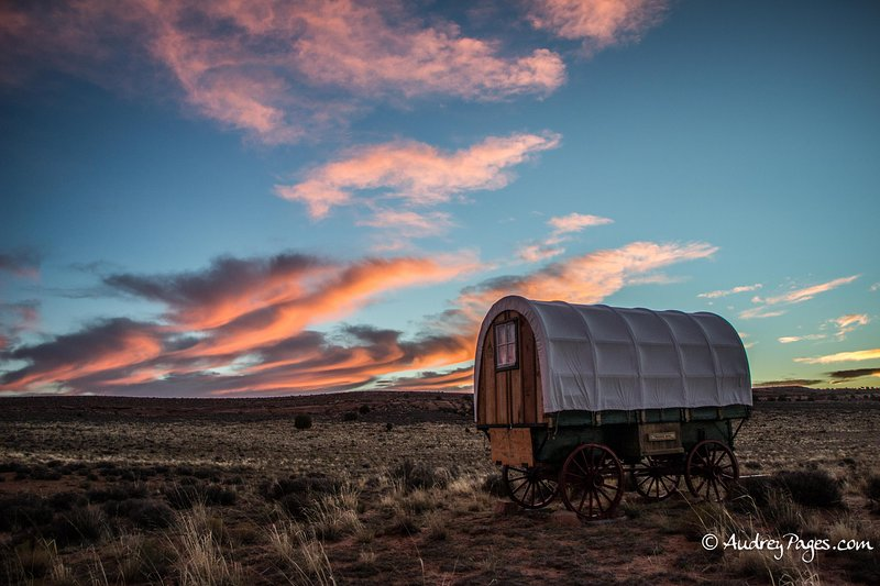 SHEEP WAGON (2) GLAMPING ON NAVAJOLAND, vacation rental in Page