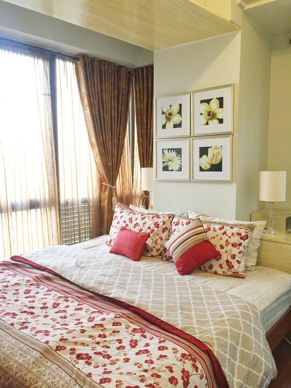 rideaux occultants légers et lourds pour la journée confortable repose