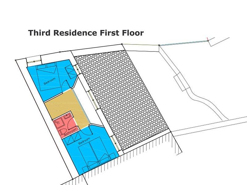 Floor plan third residence first floor!