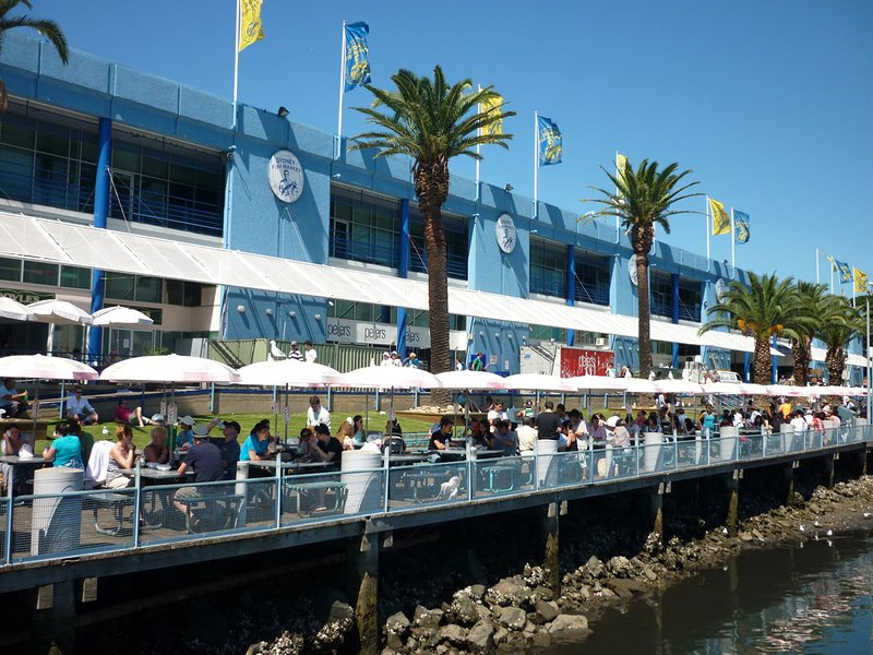 Location Shot-Sydney Fishmarkets